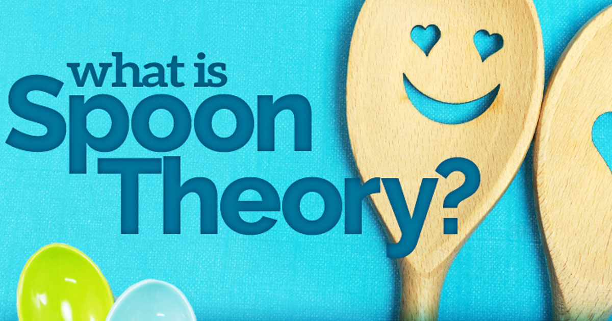 Cancer Infographic - Using the Spoon Theory to Explain Cancer